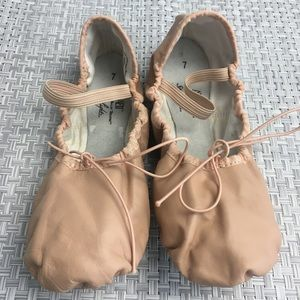 American Ballet Theatre Pink Leather Ballet Shoes
